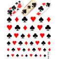 Nalepka Simply Decals 510 - Vegas Cards