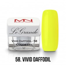 Mystic Nails LeGrande Color Gel 58 Vivid Daffodil
