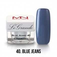 Mystic Nails LeGrande Color Gel 40 Blue Jeans