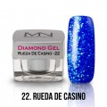 MN Diamond gel -  22 Rueda De Casino 4g