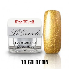 Mystic Nails LeGrande Color Gel 10 Gold Coin