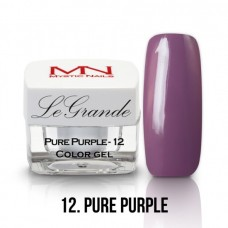 Mystic Nails LeGrande Color Gel 12 Pure Purple