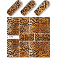 Nalepka Simply Decals N167 - Leopard Print