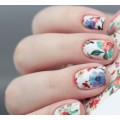 Nalepka Simply Decals N191 - Flowers of Orient