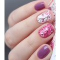 Nalepka Simply Decals N254 - Cherry Blossoms Pink