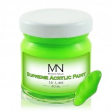 Mystic Nails Supreme Acrylyc Paint 14 - Lime 40ml